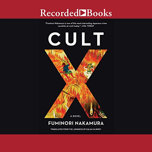 Cult X audiobook cover art
