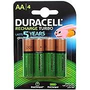 Duracell Supreme Akku (AA, HR6, 1,2 Volt, 2500mAH) 4 Stück