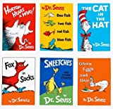 Dr. Seuss Book Quilt Blocks Fabric Panel - 10 Large Blocks (Great for Quilting, Sewing, Craft Projects, Wall Hangings, Throw Pillows and More) 23' X 44'
