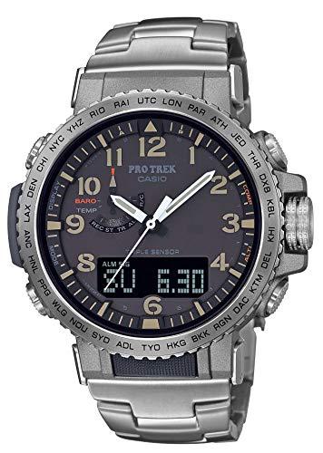 [カシオ] 腕時計 プロトレック クライマーライン 電波ソーラー PRW-50T-7AJF メンズ シルバー