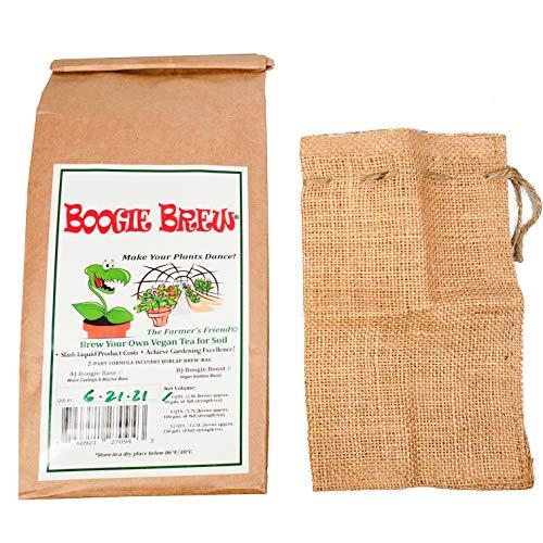 "Boogie Brew Compost Tea ""Heavy Harvest"" 2 Part Formula 3 Pounds Makes 50 Gallons"