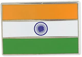 Indian Flag India Ashoka Chakra Enamel Lapel Pin