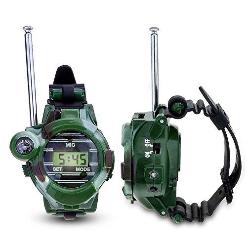 YDI Walkie Talkies für Kinder, Funkgeräte 1-3KM Reichweite 8 Kanäle mit Taschenlampe, Spielzeug für draußen, Geschenke für Mädchen und Jungen