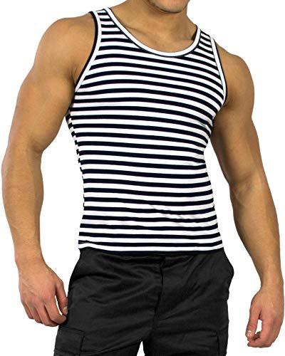 normani Russisches Marine Shirt in verschiedenen Ausführungen Farbe Unterhemd Größe L