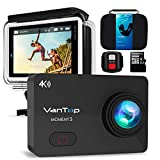 VANTOP Moment 3 Action Cam 4K WiFi Sports Kamera Helmkamera 16MP Wasserdicht Unterwasserkamera Ultra...