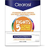 Clearasil Stubborn Acne Control, 5in1, Spot Treatment Cream, 1 oz. (Packaging may vary)