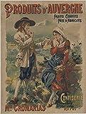 Confiserie d'Auvergne Poster, Reproduktion, Format 50 x 70