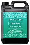 Dirtbusters Car Candy Snow Foam, shampoo detergente schiumogeno per auto con effetto lucidatura a cera, fragranza alla menta, 5 litri, per pulizia e lavaggio professionale