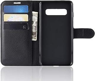 """Capa Capinha Carteira 360 Para Samsung Galaxy S10 Plus Tela 6.4"""" Polegadas Case Couro Sintético Flip Wallet Para Cartão, A..."""