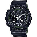 Casio GA-100L-1A G-Shock GA-100 Military Series Watch (Black / One Size)