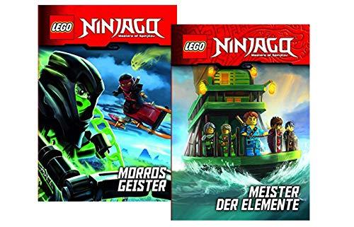 Ameet Verlag Lego NINJAGO - Juego de figuras de Morros y los maestros de los elementos (edición encuadernada)