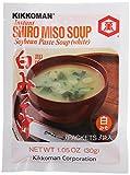 Kikkoman Instant Shiro Miso Soup, 3 ct, 1.05 oz