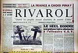 RIVAROL [No 120] du 30/04/1953 - VYCHNISKI 52 - NIET - VYCHNSKI 53 - VIET - LA FRANCE...