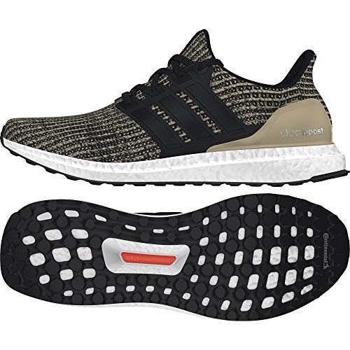 Adidas Ultraboost, Zapatillas de Trail Running Niño, Negro (Negbas/Negbas/Oronat 000), 37 1/3 EU