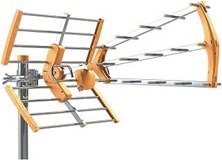 comprar comparacion Tecatel ANT-BKM18 Antena BKM Triple plegable, UHF G18dB LTE + Filtro de Regalo (Naranja)