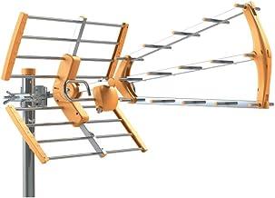Tecatel ANT-BKM18 Antena BKM Triple plegable, UHF G18dB LTE
