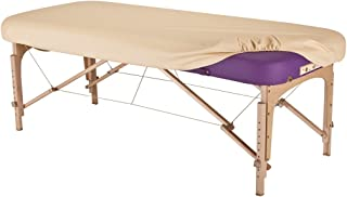 EARTHLITE Massage Table Protection Cover – 100% PU, Fitted Massage Table Replacement Cover, Fits Round & Square Corner Tables 28-32