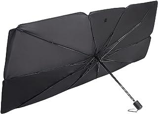 SJZERO Pare-Brise de Voiture Pare-Soleil Parapluie Pliable Pare-Soleil pour Pare-Brise Avant de Voiture Pare-Soleil Bloc UV