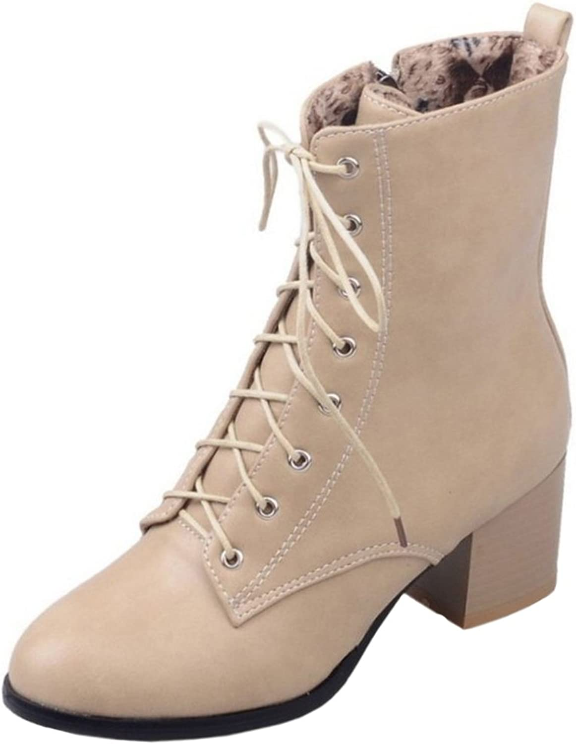 AicciAizzi Women Fashion Zipper Boots