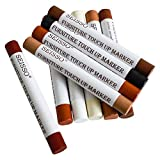 Wood Furniture Touch Up Repair Kit Markers and Filler Sticks Hardwood Oak Wood
