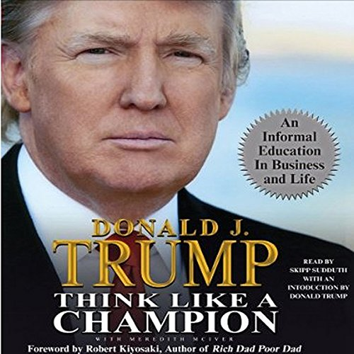Think Like a Champion audiobook cover art
