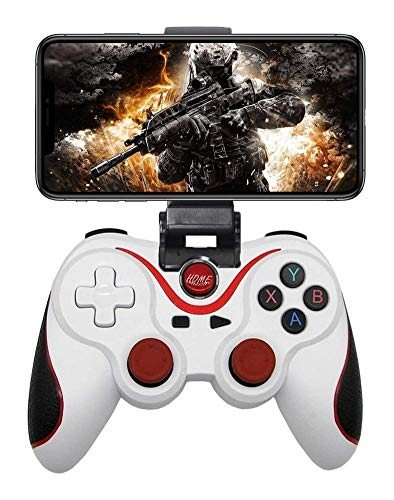 Game Controller for iPhone Android, Wireless Key Mapping Gamepad Joystick for PUBG & Fotnite & COD, Compatible for iOS Android iPad Samsung Galaxy Other Phone - Do Not Support iOS 13.4 Game controller