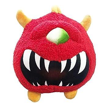 Cacodemon Plush Doom Doll Doom Doom Plushie Cacodemon Classic Stuffed Monster Toy Soft Stuff Figure Pillow Red