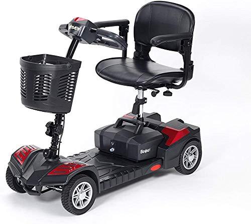 CHAIR Silla de ruedas, silla de rehabilitación médica para personas mayores, personas mayores, Scooter Scout de 12 amperios Scooter compacto de energía transportable Scooter de movilidad motorizada p