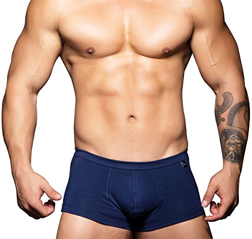 Andrew Christian Boxershorts Basix Tagless Comfort 90150, Navyblau