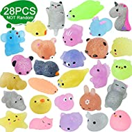 Squishy Toys- Amazing soft and cute. You will can not stop pinching them because of their kawaii design, great touch feeling and full squeeze-ability. Safe, Non-Toxic– These mochi squishy toys are made from high quality TPR material, non-toxic and od...