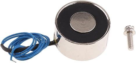 Ueetek Actionneur de cadre ouvert de 6/V CC avec /électroaimant sol/éno/ïde /à pression de pouss/ée