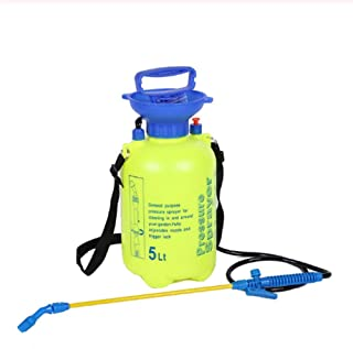 Lawn And Garden Portable Sprayer - Pump Pressure Sprayer for Herbicides Pesticides Fertilizers Mild Cleaning Solutions And...