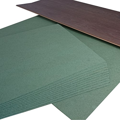 7 m² Ökotex Parquet Feltplatte 5 mm Starke Trittschalldämmung für Laminat-/ Parkett- und Korkböden. Stärke: 5 mm/Paketinhalt: 7 m² (7 m² | 1 Paket)