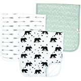 Product Image of the Baby Burp Cloth Large 21''x10'' Size Premium Absorbent Triple Layer 3 Pack Gift...