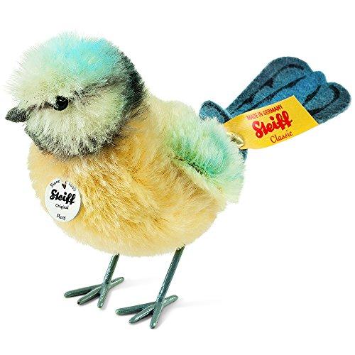 Steiff Piccy Blaumeise Plüsch-Spielzeug (gelb/blau/weiß)