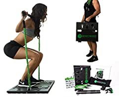 BRING THE GYM TO YOU & SIMULATE 1,000s OF DOLLARS WORTH OF GYM EQUIPMENT IN 1 SYSTEM: The BodyBoss 2.0 was designed to simulate all the bulky equipment and machines you see at the gym and combine them into one revolutionary workout concept - the Body...