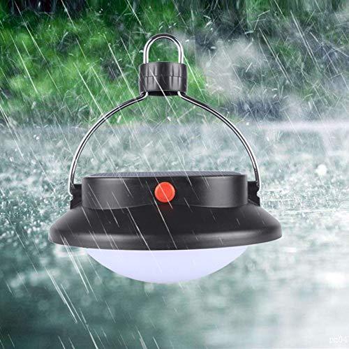 GKJRKGVF Led-buitenlamp, op zonne-energie, campingtent, nachtlampje, lantaarn, noodtent, paraplu, nachtlampje, wandellamp