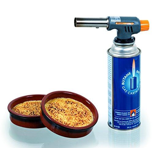 Cartouche professionnelle de gaz 400 ml pour Chalumeau pro cuisine.