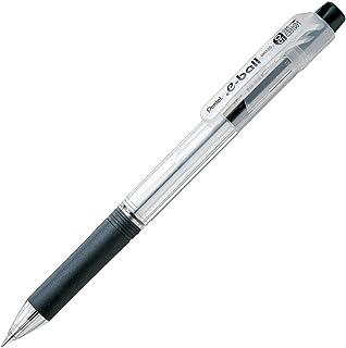 ぺんてる 油性ボールペン ドットイー BK125-A 0.5黒 10本