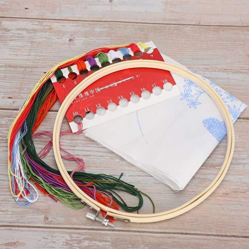 DIY Stickset, Simple Pperation, Needlepoint Kit für Familie oder Freunde als Geschenk,(#1)