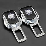 Diniwei 2pcs Universal Alloy Car Safety Seat Belt Plug Clip Interior for Mercedes-Benz