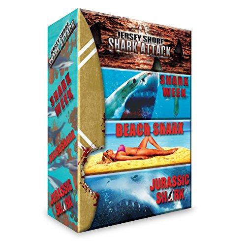 Requins : Jersey Shore Shark Attack + Shark Week + Beach Shark + Jurassic Shark [DVD]