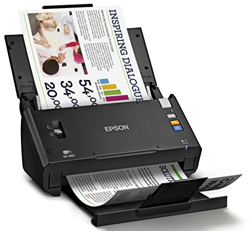 Epson WorkForce DS-560 Wireless Color Document Scanner for PC and Mac, Auto Document Feeder (ADF), Duplex Scanning (Renewed) Photo #4