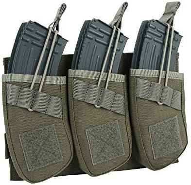 EXCELLENT ELITE SPANKER Tactical Open Top Magazine Single Double Triple AK Mag Pouch Triple product image