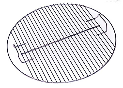 22 Inch (Actual Size 21.5') Non-Plated, Solid 304 Stainless Steel, Upgrade for Weber Original Kettle Premium & Performer Series, Smokey Mountain Cooker Charcoal Grill Cooking Replacement Grate