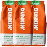 Dunkin' Donuts Ground Coffee 1 LB. Bag Multi Pack (Decaf, Three Pack)
