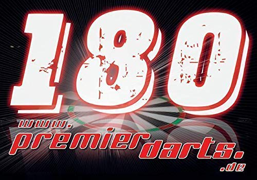 Premierdarts 180er Schild 20 Stück (20 Stück)