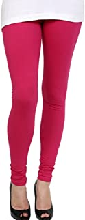 Fuschia Churidar Legging and Dupatta Set