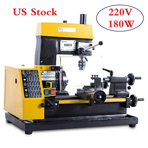 Why Choose 220V 180W Multi-function Mini Lathe machine Desktop DIY Drilling Milling Machine