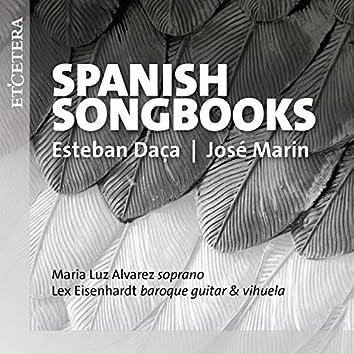 Daça & Marin: Spanish Songbooks